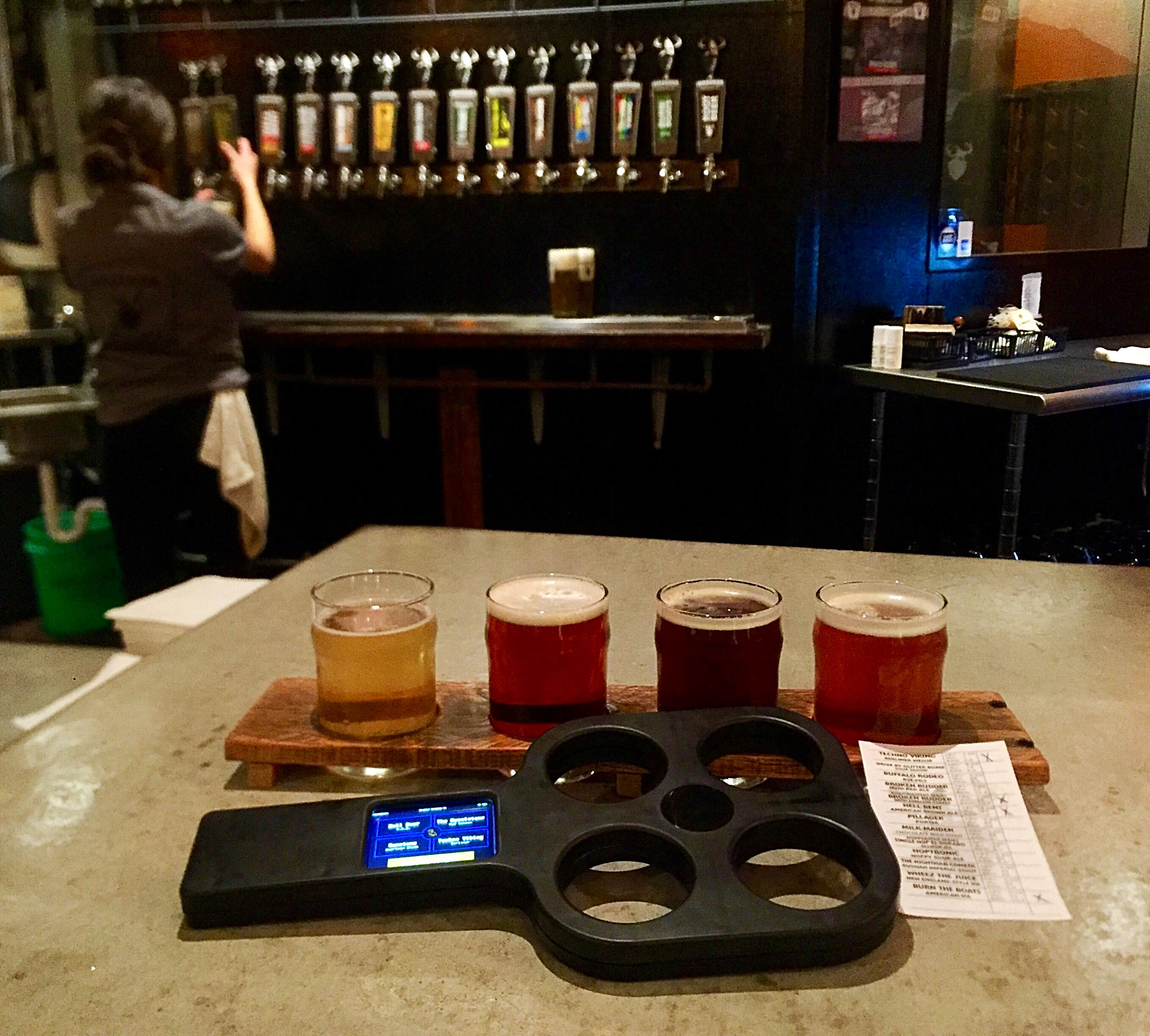 Drekker Brewing Co. - Beer Flight
