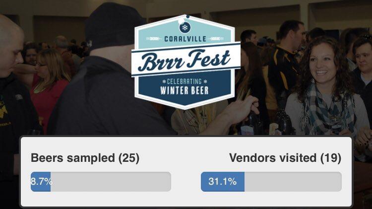 Ben McDougal - BrrrFest Beers