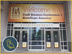 Craft Brewers Conference 2016 Enterance