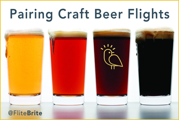 Pairing Craft Beer Flights