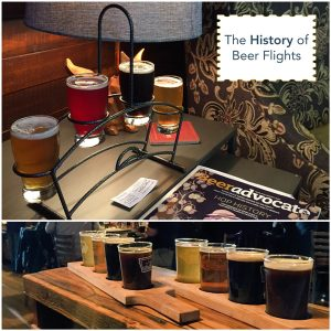 The History of Beer Flights
