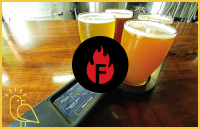 FliteBrite - Firetrucker Smart Beer Flights
