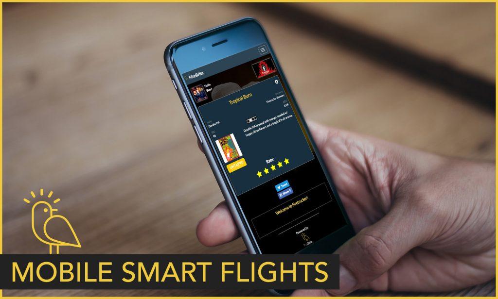 Mobile Smart Beer Flights