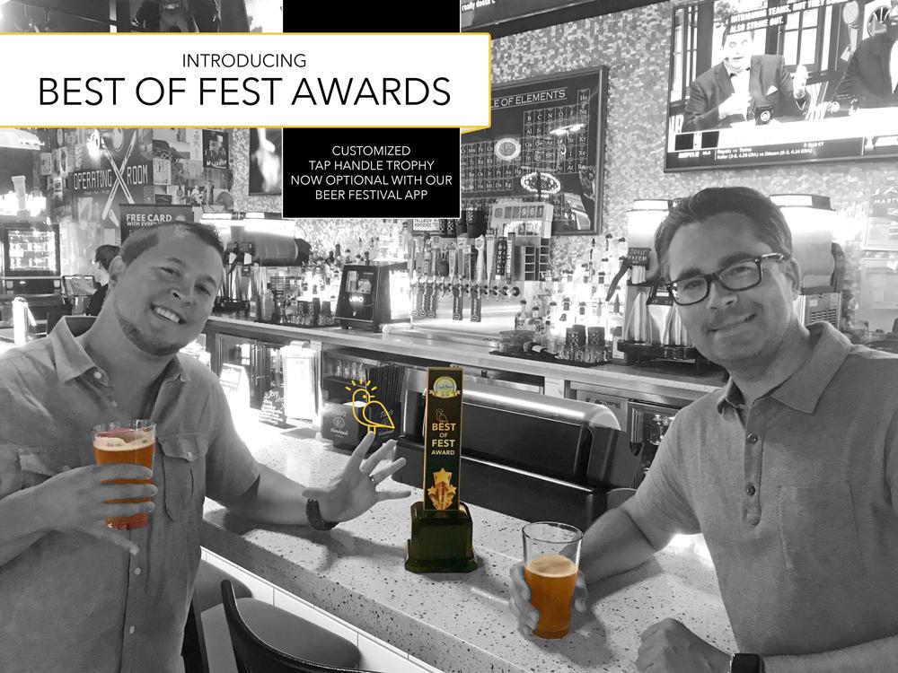 FliteBrite - Best of Fest Award - Beer Festival App